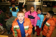 Last winter, OKCPS had to cancel school on six separate occasions because children without coats couldn't walk to school or wait at bus stops in freezing weather. Many of the Oklahoma City students do not have coats for winter. - PROVIDED
