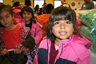 Oklahoma City Public Schools is partnering with Operation Warm to provide students with coats for winter. - PROVIDED