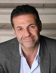 "Khaled Hosseini, author of ""The Kite Runner"" and the new ""And the Mountains Echoed"""