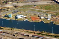 The Boathouse District in OKC has America's tallest slide and an 80-foot free fall for adventure seekers. - SHANNON CORNMAN