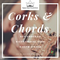 Corks & Chords - Uploaded by melissa@oklahomagypsyglam.com