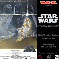 Star Wars back on the big screen! - Uploaded by VHSANDCHILL