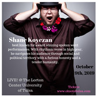 Shane Koyczan LIVE! At University of Tulsa - Uploaded by Jennifer E. Hudgens 1
