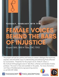 Female Voices Behind the Bars of Injustice - Uploaded by vontell