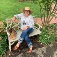 Dee in her garden in Guthrie - Uploaded by ShamelessGardener