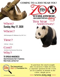 22q at the zoo worldwide awareness event - Uploaded by Kerri Miller