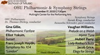 OSU Orchestras' November Concert - Uploaded by Thomas Taylor Dickey