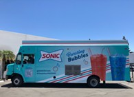 SONIC's Bursting Bubbles truck welcomes  guests to cool down during the hot summer days with a refreshing drink that will take their tastebuds on a sweet, delightful adventure. - Uploaded by THopkins48