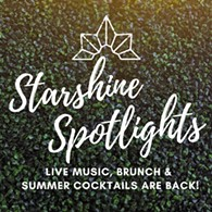 Starshine Spotlights - live music, brunch and summer cocktails are back at Aurora - Uploaded by Nicole Lowry