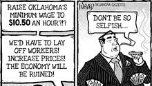 Cartoon: Minimum rage