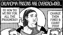 Cartoon: Circle of life (in prison)
