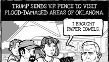 Cartoon: Throw in the towels