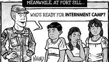 Cartoon: Unhappy campers