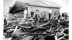 100 years of destruction: 43 devastating images of hurricane damage in Florida