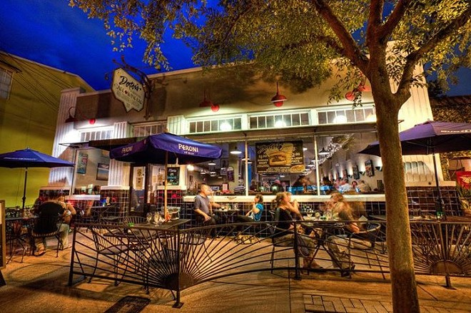 Dexter's Thornton Park is one of the best spots in Orlando for people-watching, day or night - PHOTO VIA DEXTER'S