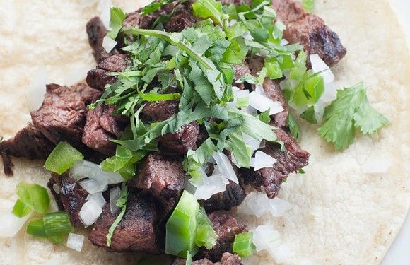 214's steak street taco is a pretty great choice, too. - PHOTO VIA COCINA 214