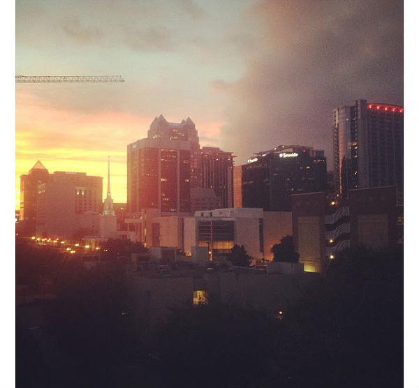 60 epic Orlando sunsets