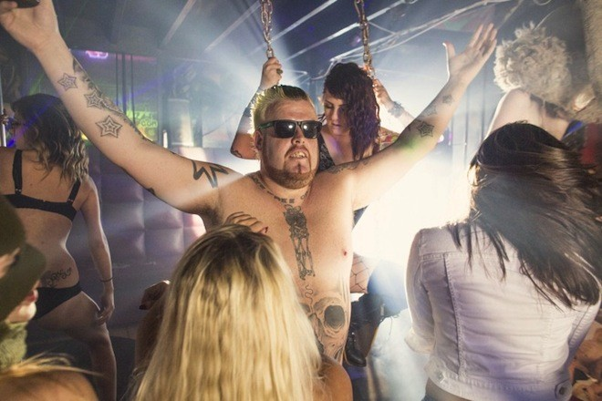 20 insane photos from Mike Busey's Sausage Castle (NSFW) - PHOTO BY BRYAN SODERLIND