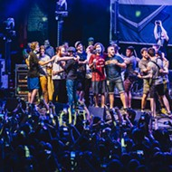 Concert pic of the week: Real Friends invite tons of friends on stage at the Beacham