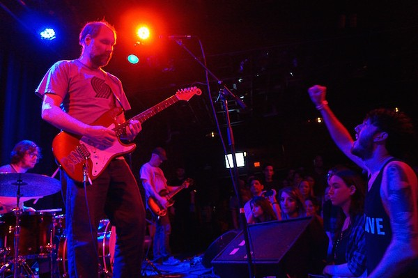 Carry the zero: Photos from Built to Spill, Wooden Indian Burial Ground and Clarke & the Himselfs at the Social - PHOTO BY JIM LEATHERMAN