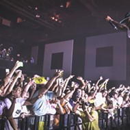 Concert pic of the week: Tyler, the Creator before his crazed, adoring fans