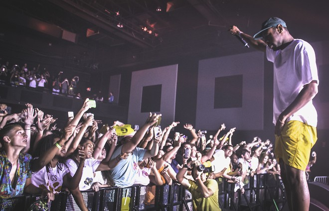 Find your wings: Photos from Tyler, the Creator at the Plaza Live - PHOTO BY CHRISTOPHER GARCIA