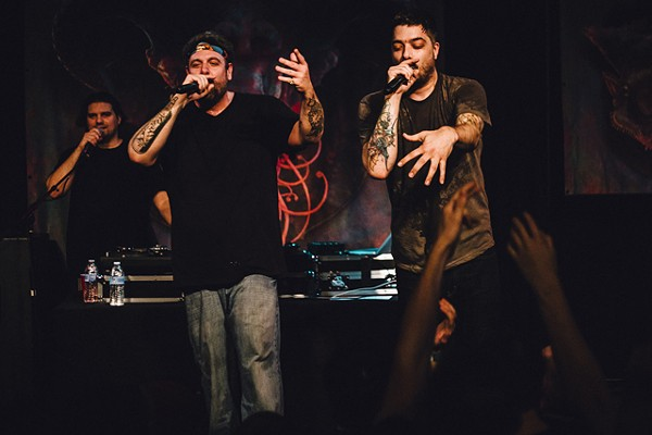 Picture day: Photos from Aesop Rock and Rob Sonic at the Social - JAMES DECHERT