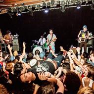 Concert pic of the week: Fidlar fan crowdsurfing in tortured elation