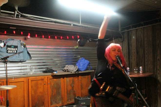 Sweet static: Photos from Bruiser Queen at St. Matthew's Tavern - PHOTO BY ASHLEY BELANGER