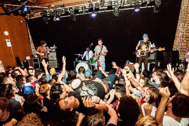 Stoked and broke: Photos from Fidlar, Metz and Dryspell at the Social - PHOTO BY CARLO CAVALUZZI
