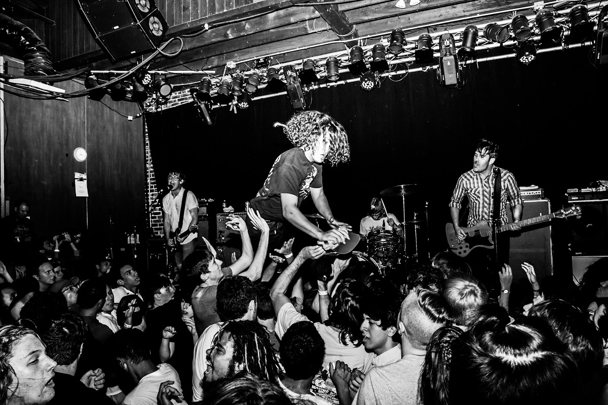 Stoked and broke: Photos from Fidlar, Metz and Dryspell at the Social