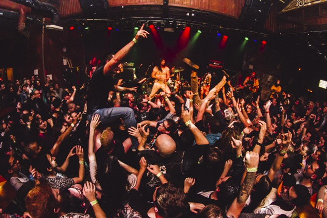The party god: Photos from Andrew W.K. at the Social - JAMES DECHERT