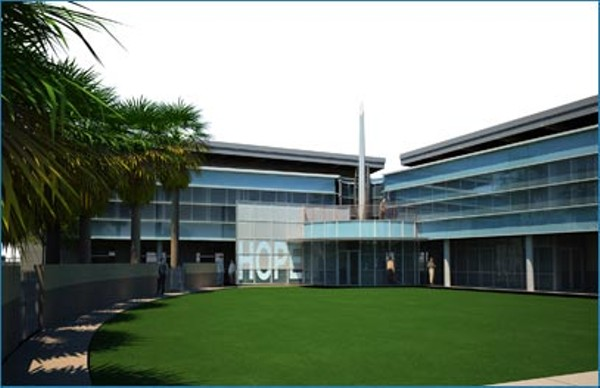 A rendering of the Mens Service Center, which is scheduled to be built and in operation by 2013.