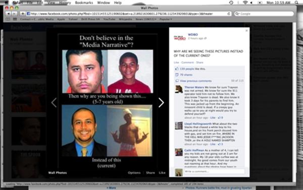 A screenshot of WDBO's Facebook photo