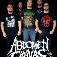 Abdomen Canvas headlines Backbooth's Heavy Metal Juggernaut night