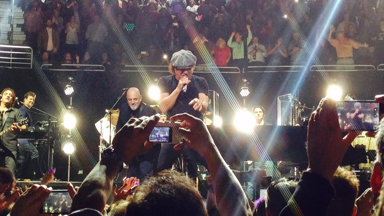 AC/DC's Brian Johnson rings in the New Year at Billy Joel ...