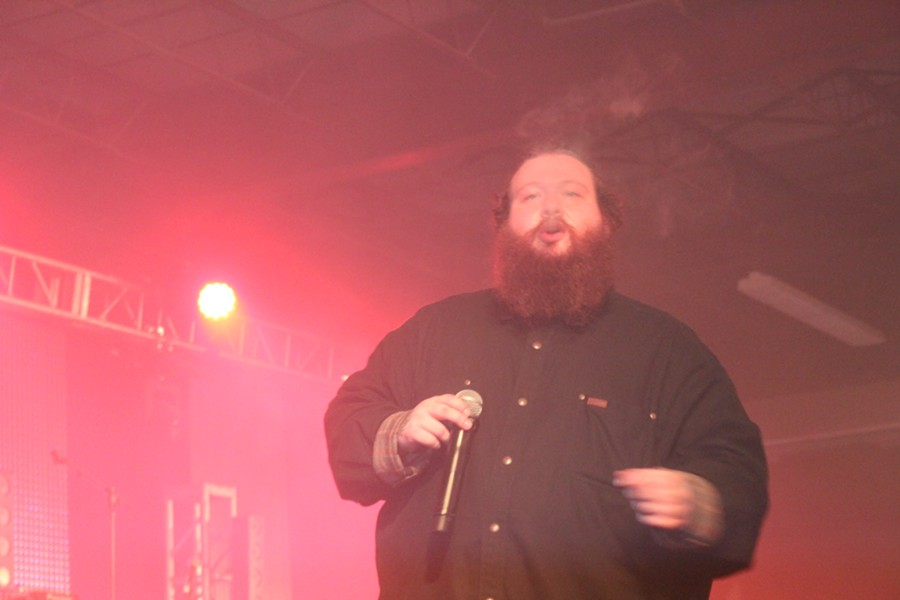 Action Bronson - PHOTOS BY LUIS VAZQUEZ AND LARRY ANDRESOL