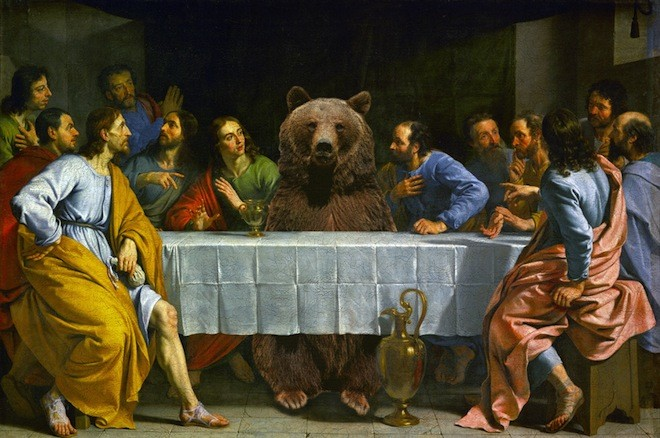 Actual painting from the Renaissance.