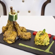 Aesthetics seem to be the main focus at Mynt, a new Indian eatery in Hannibal Square
