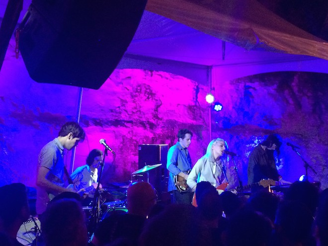 Alvvays at SXSW 2015 - PHOTO BY NICK MCGREGOR
