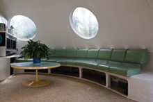 PATRICIA LOIS NUSS - An interior shot of one of the Venus Project houses