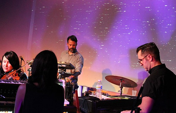 ANAMORPHIC ORCHESTRA AT THE VENUE; Photo by ASHLEY BELANGER