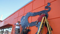 ArtReach Orlando and Boy Kong collab mural installed in Mills 50 today