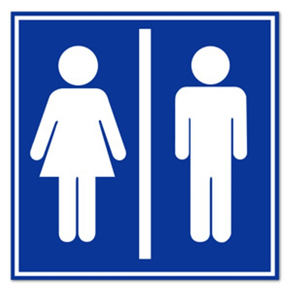 Bathroom Sign People
