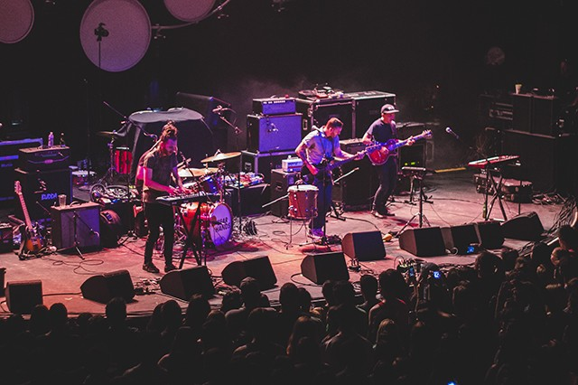 Bear Hands at the Plaza Live (photo by James Dechert)