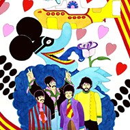 Beatles animator Ron Campbell steers his yellow submarine into Artegon in June