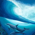 Marine artist Wyland presents 35th anniversary show at Disney galleries