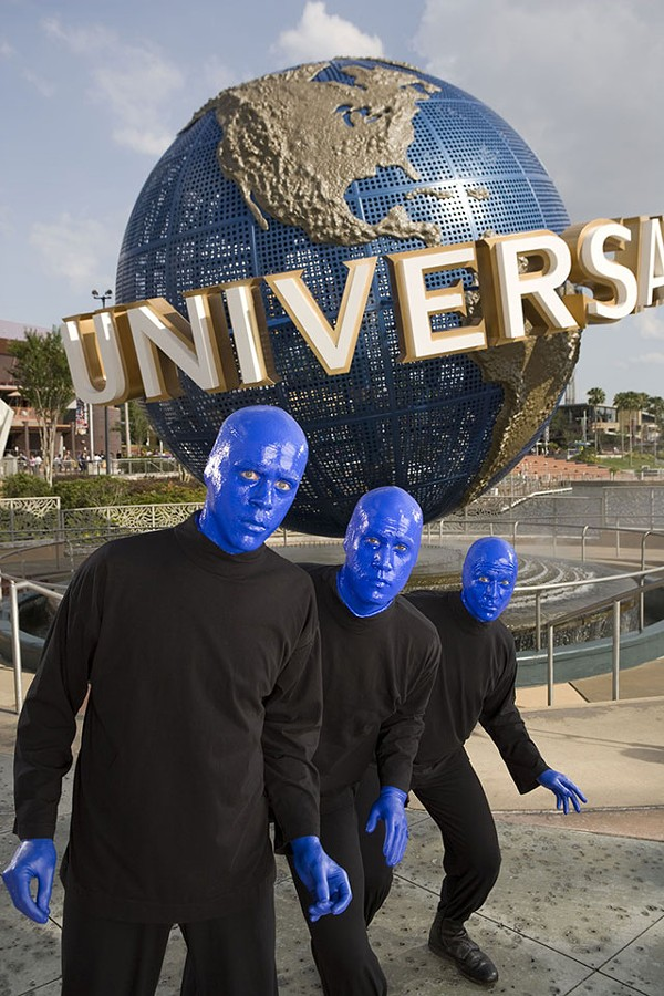 Blue Man Group - COURTESY PHOTO