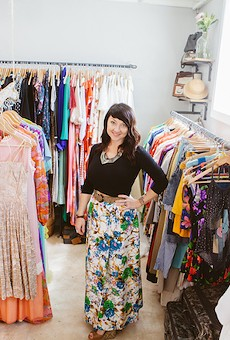 Brandy Tezak, owner of Retromended Vintage