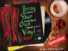 BRANDNU - Bring Your Own Vinyl Night @Spacebar May 21